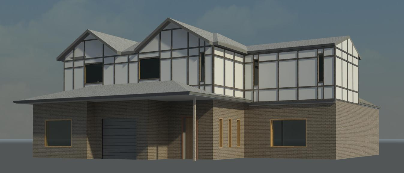 Revit 2 sorey house image