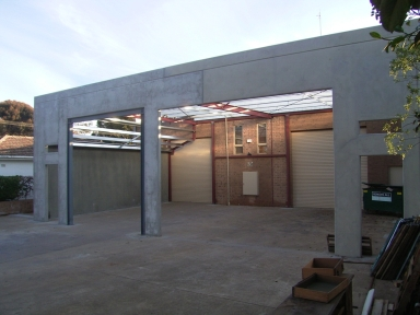 Warehouse Extension Somerton Park by Adelaide Architect Grant Lucas
