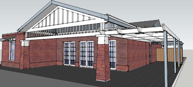 3d image of proposed House Extension in Goodwood by Adelaide Architect Grant Lucas