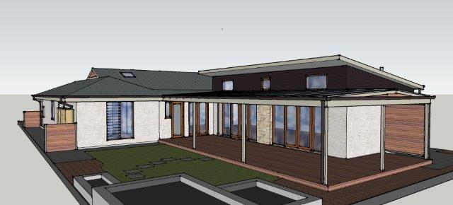 3d image of House Extension by Adelaide Architect Grant Lucas
