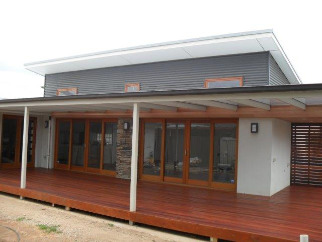 Home extension Marion Adelaide: Verandah and Entertaining area almost finished