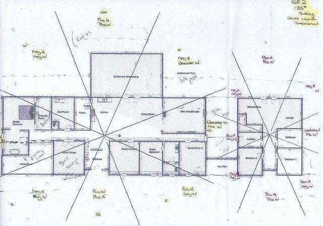 Sketch Design For House On Rural Property Adelaide South Australia