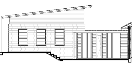 New Garage and Entry: Adelaide Architect Grant Lucas